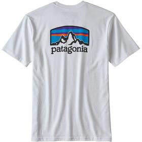 Patagonia Fitz Roy Horizons Responsibili Tee Herr White